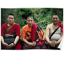 tibetan monks prefer nikon Poster