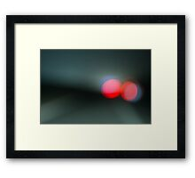 freeway.. Framed Print