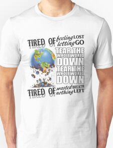 Failure Lyrics Unisex T-Shirt