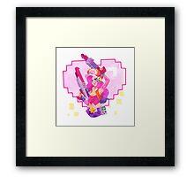 Arcade Miss Fortune Framed Print