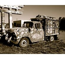 Route 66 Relic Photographic Print