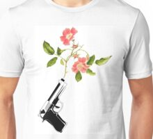 Shoot Flowers, Not Bullets  Unisex T-Shirt
