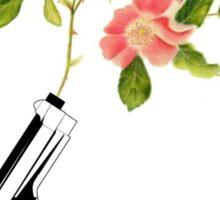 Shoot Flowers, Not Bullets  Sticker