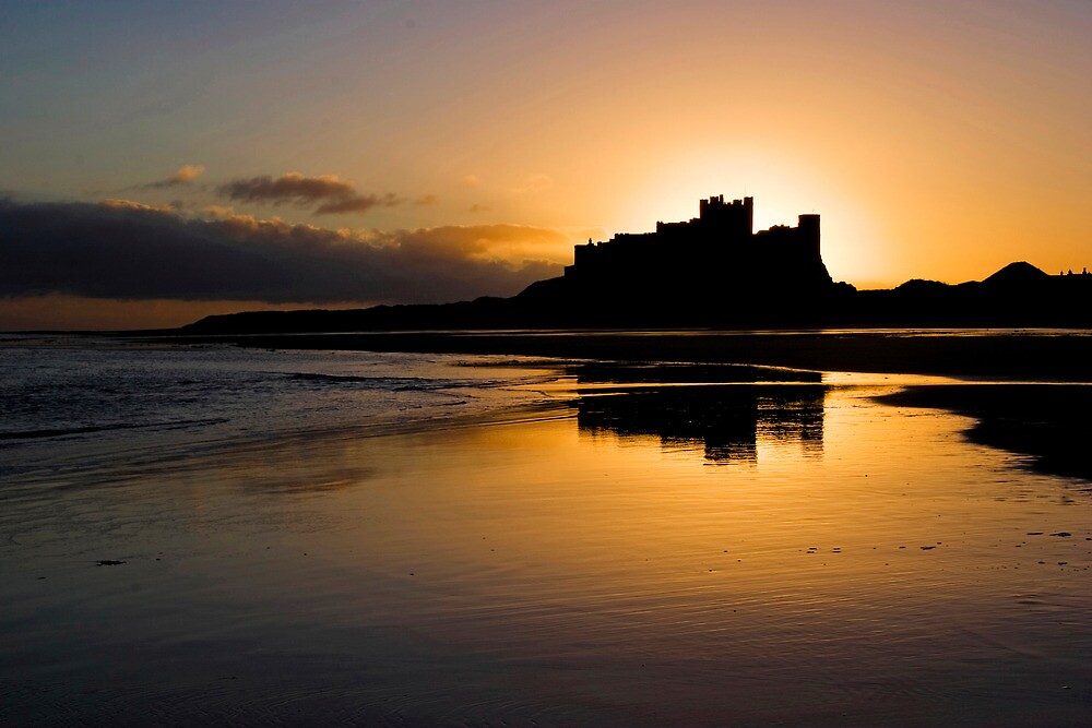 Bamburgh Castle by nigelphoto