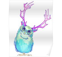 The Blue Owl of Wanderland II Poster