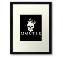 Such a McQUTIE! Framed Print