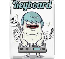 Musician Keyboard player iPad Case/Skin