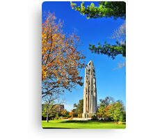 Moser Tower and the Naperville Carillon Canvas Print