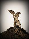 Guardian Angel, Comillas, Spain by buttonpresser