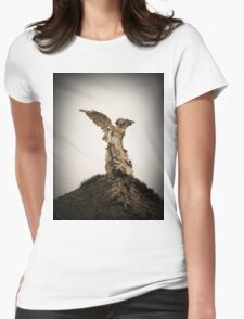 Guardian Angel, Comillas, Spain Womens Fitted T-Shirt