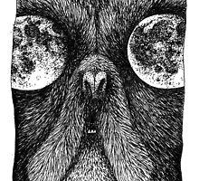 Moon Eye Beast Dog by SillyMaddie
