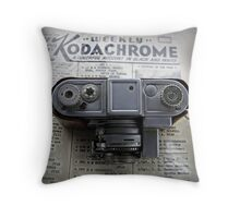 Kodachrome Weekly Throw Pillow