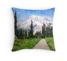 A Day in Paradise Throw Pillow