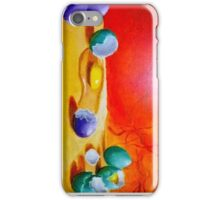 colored eggs iPhone Case/Skin