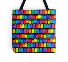 Mini Ghost Army! - Rainbow Tote Bag