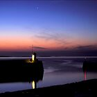 Seahouses Harbour by nigelphoto