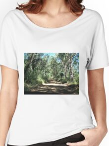 Road up Spicer's Gap Women's Relaxed Fit T-Shirt