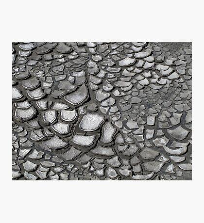 Crack patterns Photographic Print