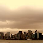 Manhatten Skyline. by JessicaLisa