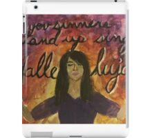 Stand Up Sing Hallelujah iPad Case/Skin