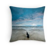 Lonely, Peggs Beach Tasmania Throw Pillow