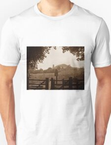 Glastonbury Tor in sepia T-Shirt