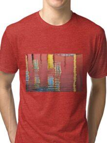 Abstract, Bergen, Norway Tri-blend T-Shirt
