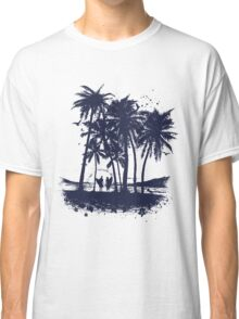 Palm Sunset - Hand drawn Classic T-Shirt