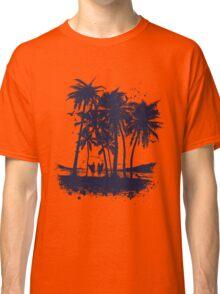 Palm Sunset - Hand drawn Classic T-Shirt