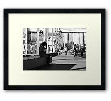 Oh sh!t, meant to save it, not delete it!! Framed Print