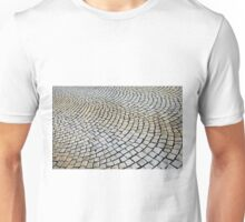Cobbled stone, Bergen, Norway Unisex T-Shirt