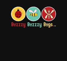 Buzzzy Bugs with Ladybug, Bee and Dragonfly T-Shirt