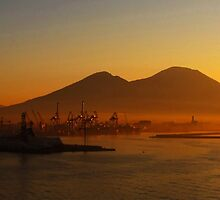 Industrial Dawn, Naples, Italy by buttonpresser