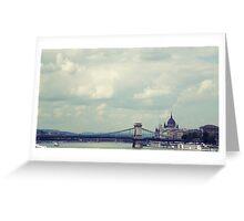 Budapest panorama Greeting Card