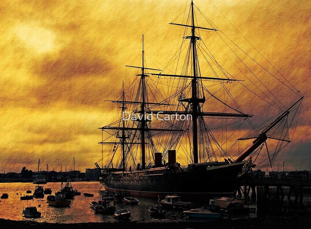 HMS Warrior, Portsmouth Dockyard, UK by buttonpresser