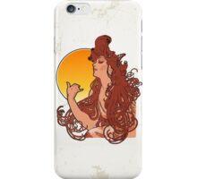 Alphonse Mucha Art Nouveau Vintage Design iPhone Case/Skin