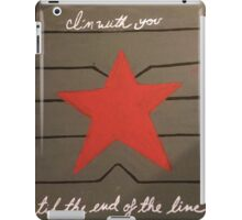To the End of the Line iPad Case/Skin