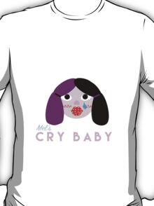 Mel's Cry Baby (dark purple hair) T-Shirt