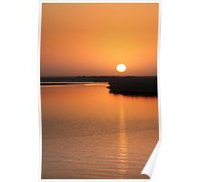 Pilbara Sunset  Poster