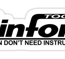 Binford Tools Home Improvement Sticker