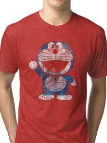 Doraemon Tri-blend T-Shirt