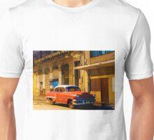 Classic American car at Dawn, Havana, Cuba Unisex T-Shirt