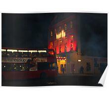 Smokey London Poster
