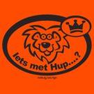 ORANJE - IETS MET HUP LION by Hendrie Schipper