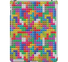 Colored Block Tetris Pattern iPad Case/Skin