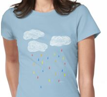 Rainclouds Womens Fitted T-Shirt