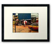 Rain in Freetown II Framed Print