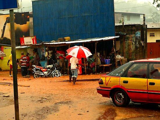 Rain in Freetown II by heinrich