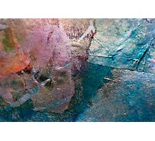 Patchwork-Pieces of different materials Photographic Print
