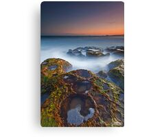 Craters at Boomer Beach Canvas Print